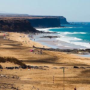 A beach on Fuerteventura