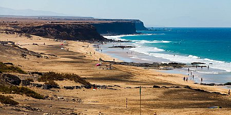 A beach on Fuerteventura