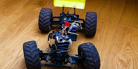 Arduino controlled RC car