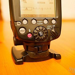 Canon 600EX RT Control Panel