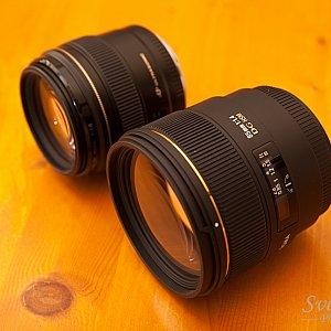 Canon EF 85mm f/1.8 USM vs Sigma 85mm F1,4 EX DG HSM