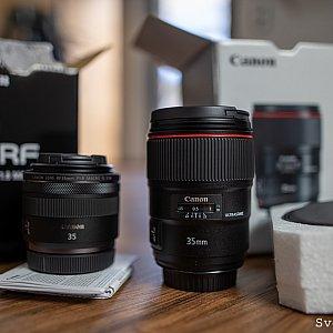 Canon EF 1.4L II vs Canon RF 1.8 IS