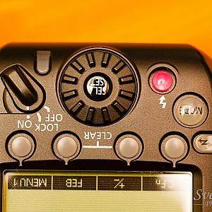 Canon ST-E3-RT control panel