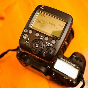 ST-E3 mounted to Camera