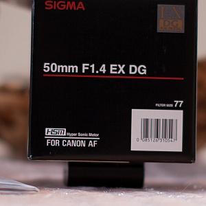 Sigma (134) 50mm 1.4@1.4