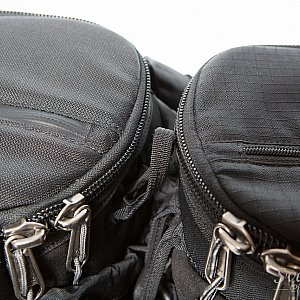 v2.0 vs. v1.0 - Top zipper waether protection