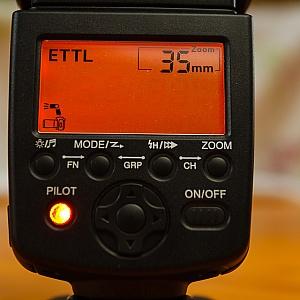 eTTL settings