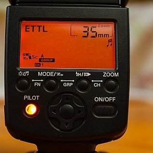 Remote slave settings for Canon