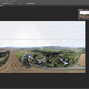 Replace the missing sky with content based fill using Photoshop CC