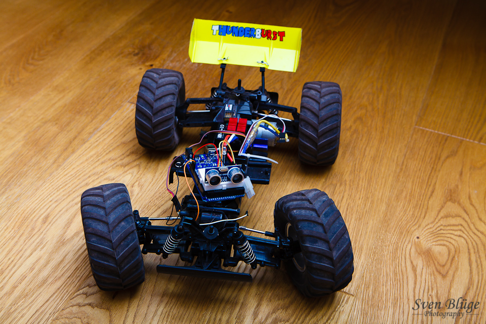 remote control rc cars with 135 Arduino Controlled Rc Car on Brum as well 190 2s 6 6v 2000 Mah Robitronic Life Battery Tests also Electric Drag Race Tesla P85 Model S Vs Rc Car also 20 Strange Rc Vehicles That Will Make You Say Huh additionally 32733666129.