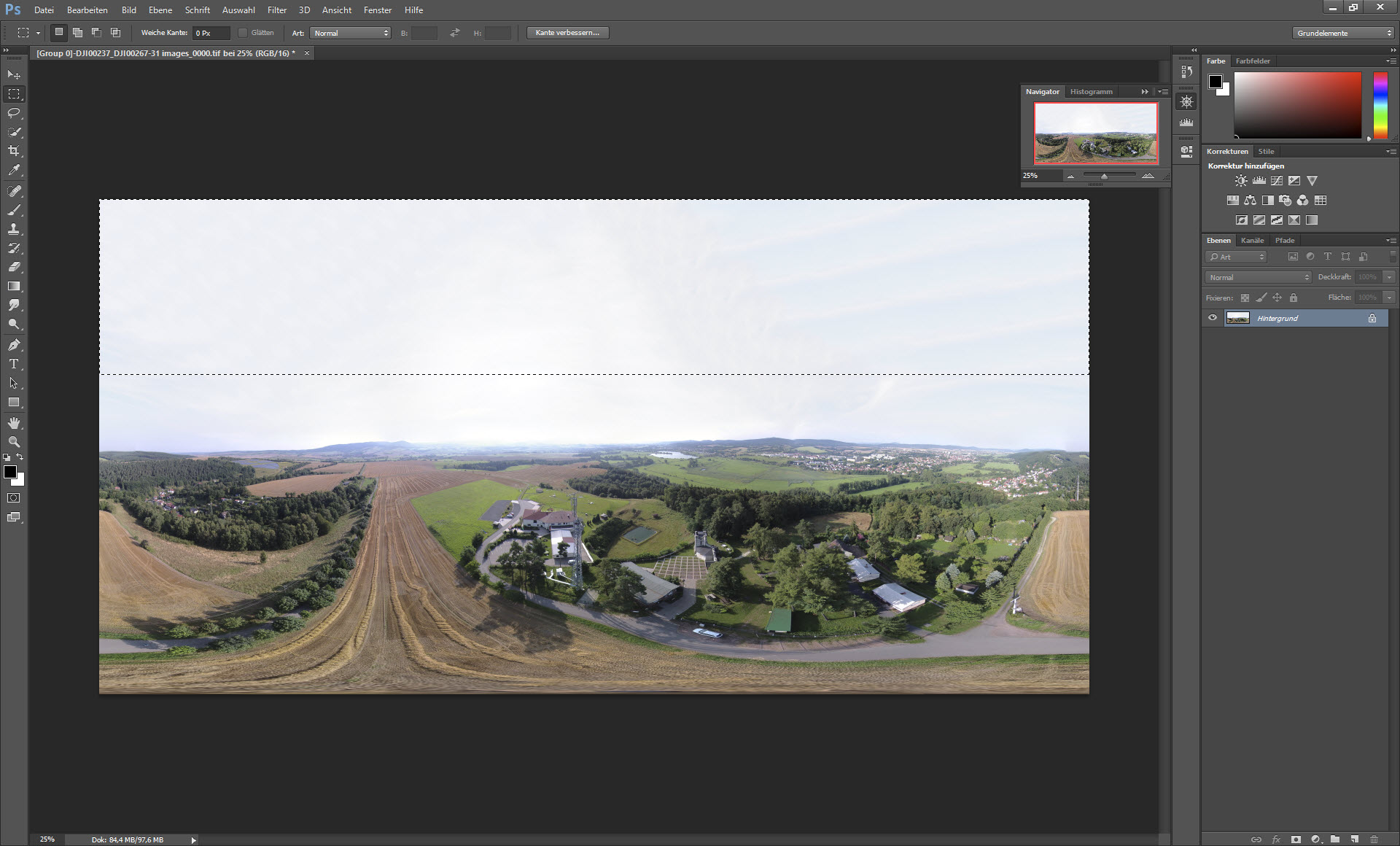 Aerial Panorama Images